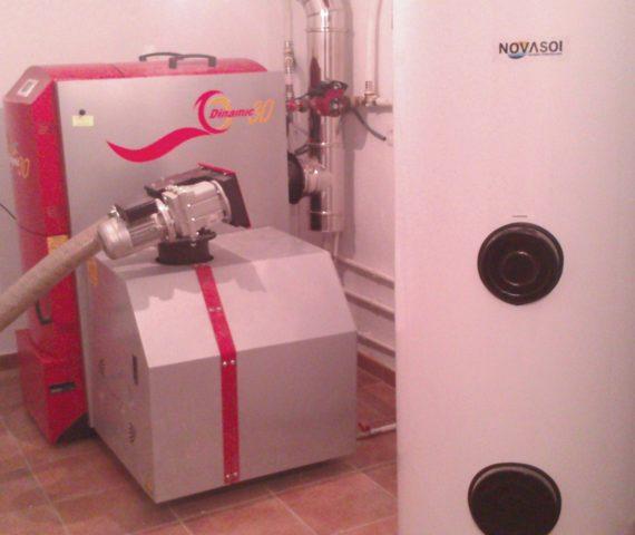 Instalación caldera policombustibles