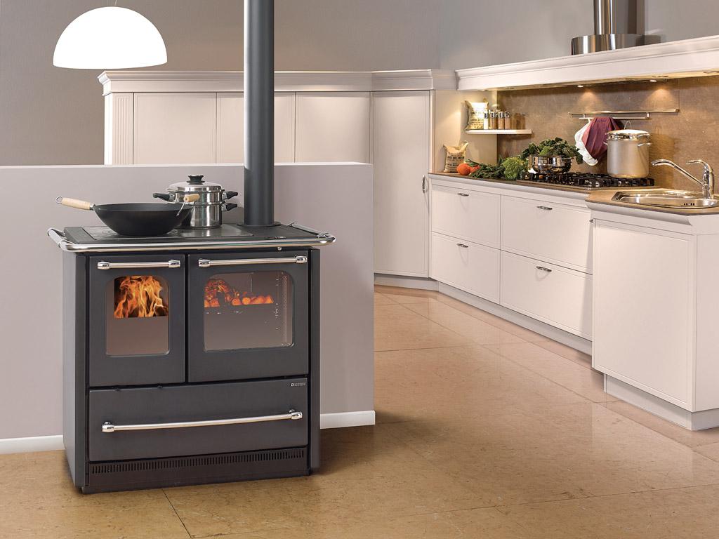 Cocinas de le a solar pellet solar innova vila y segovia - Cocinas con horno de lena ...