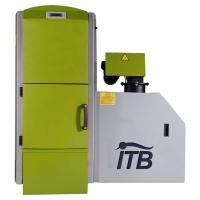 Caldera de biomasa policombustible de fabricación española Intecbio CP 30