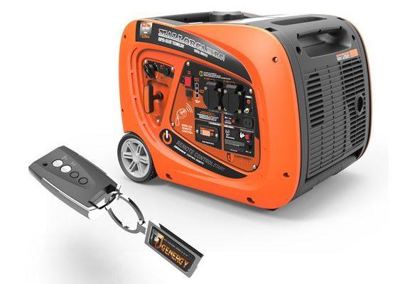 Generador eléctrico Genergy Mallorca III RC inverter e insonorizado en oferta