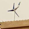 imagen de aerogenerador silencioso SilentWind instalado en la provincia de Segovia
