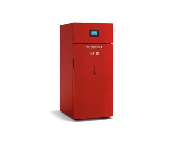 Caldera pellet HP 15 Evo de Extraflame disponible en Avila, Segovia y para toda España