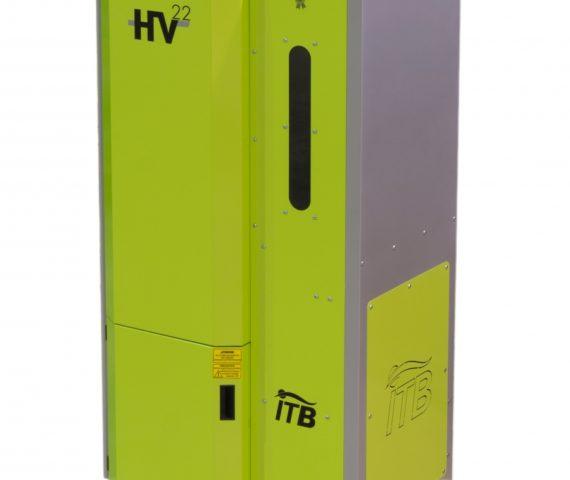 Caldera de pellet automática de alto rendimiento y fabricada en España ITB 15 HV para Avila, Segovia y Valladolid