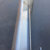 imagen lateral y detallada ventilador tangencal original de aire caliente para estufas de pellet Dorina, Ketty, Rosy, Graziosa de la Nórdica Extraflame