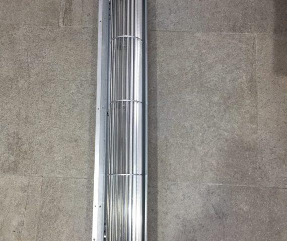 Ventilador tangencial de aire caliente para estufas de pellet Confort Maxi y Ecologica de Nórdica Extraflame