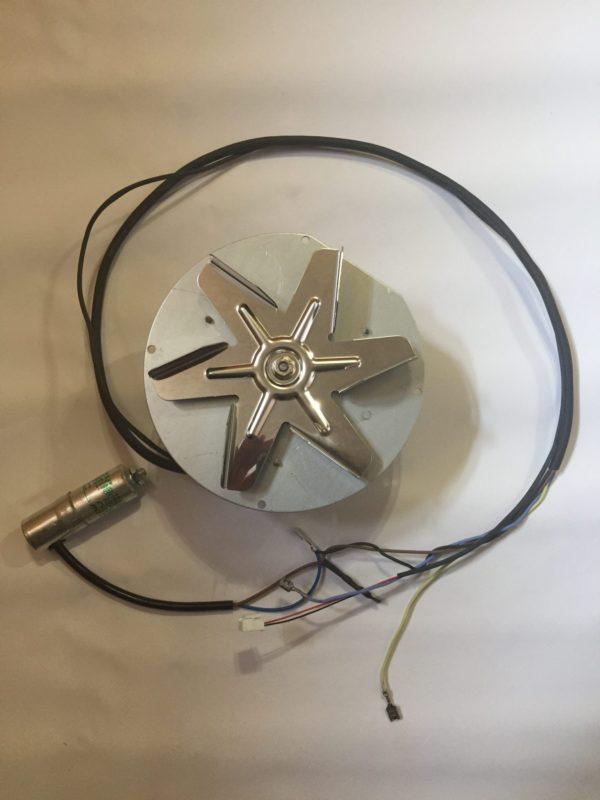 Motor de humos original de productos de pellet de La Nórdica Extraflame