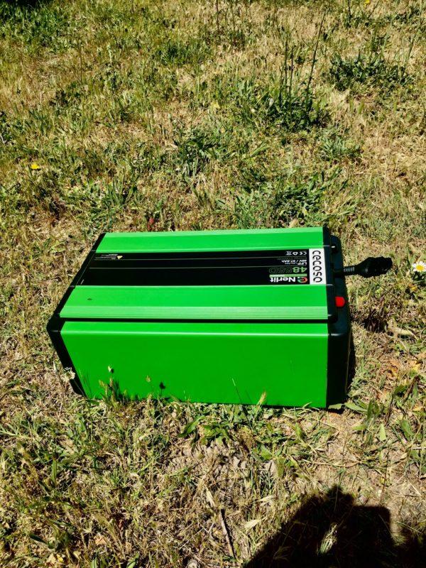 Imagen lateral de batería de lítio Cegasa de alta calidad y fabricación española