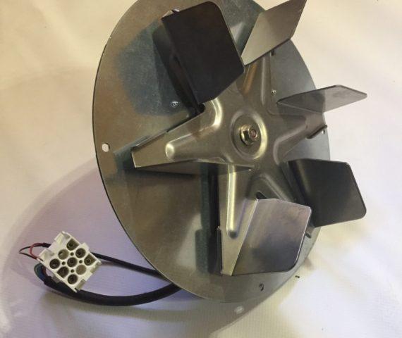 Motor de humos de repuesto original para calderas de pellet de La Nordica Extraflame