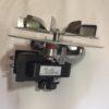 Vista lateral de motor de humos para estufa de pellet de venta online