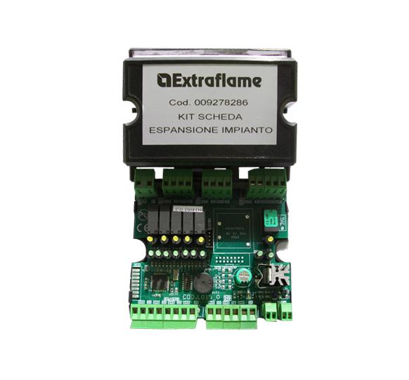 Kit tarjeta expansión de la instalación Extraflame
