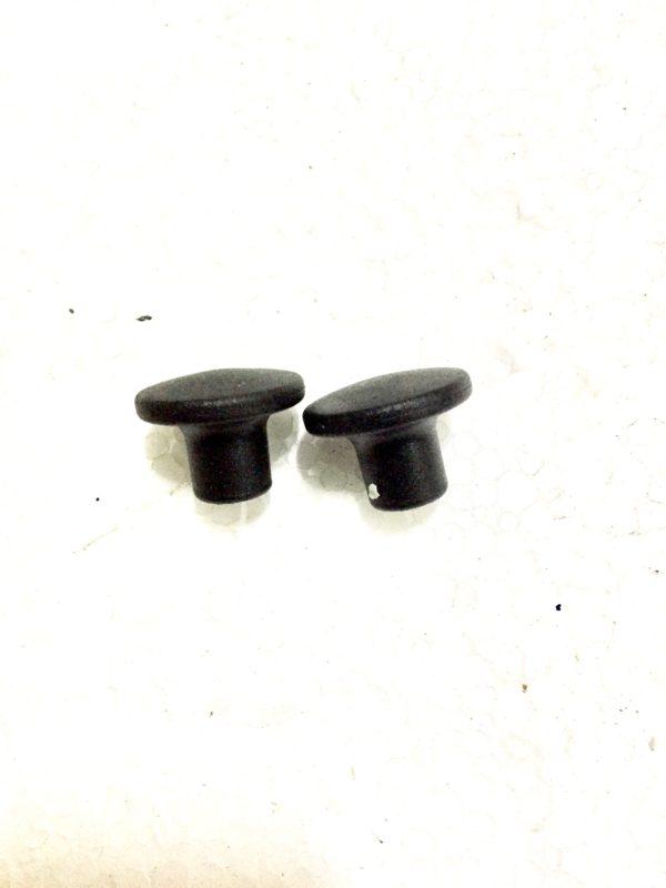 Repuesto de pomo negro para tirador de estufas de pellet Extraflame