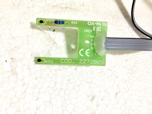 repuesto original de sensor de flujo para estufas y calderas de pellet Extraflame