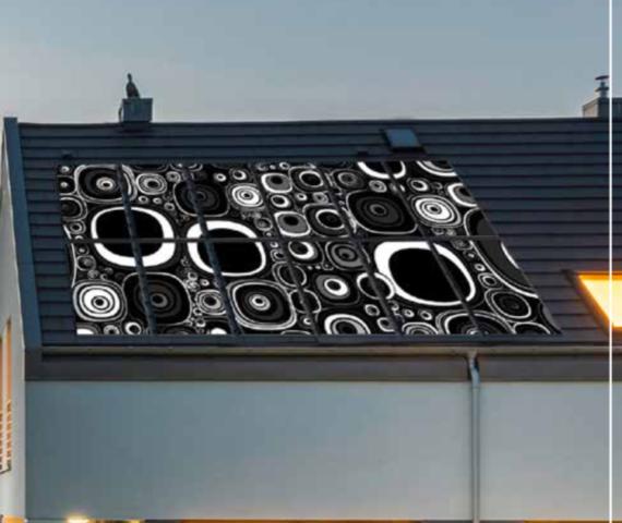 Panel fotovoltaico de alto diseño para integración arquitectónica