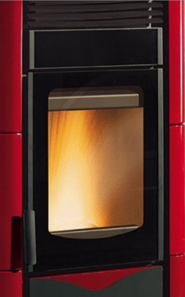 Cristal para estufas de pellet Tosca Plus de Extraflame
