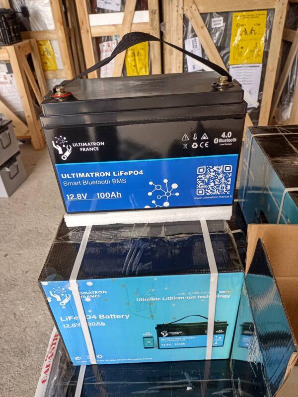 Batería de lítio para instalaciones solares